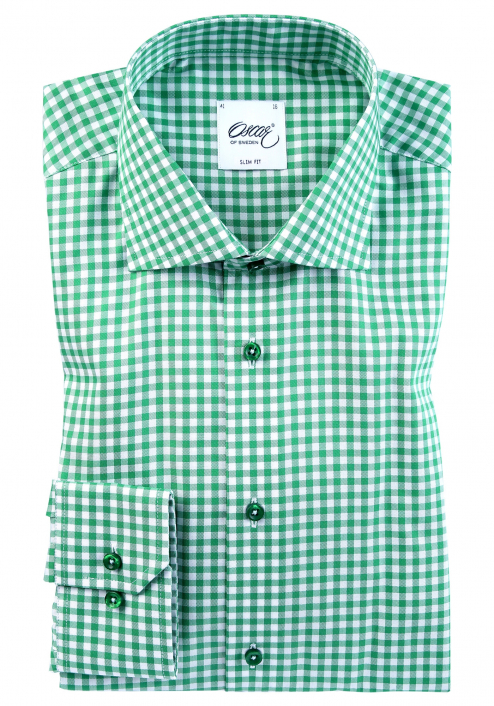 CACTUS GREEN CHECK SHIRT