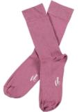 Topeco 3-pack sock mönstrad, bambu, bordeaux