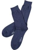 Topeco 3-pack strumpa enfärgad, bomull, blåmelange