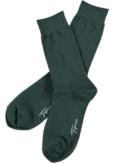 Topeco 3-pack strumpa enfärgad, bomull, mörkgrön