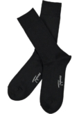 Topeco 3-pack strumpa enfärgad, ull, svart