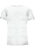 Topeco 2-pack t-shirt enfärgad, bomull, vit
