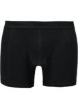Topeco 2-pack regular boxer enfärgad, bomullsstretch, svart