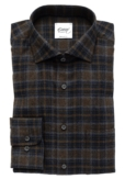 FLANELLSHIRT WITH GREEN CHECK